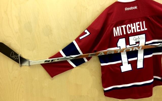 stick & jersey